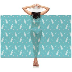 Baby Shower Sheer Sarong (Personalized)