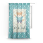 Baby Shower Sheer Curtains (Personalized)