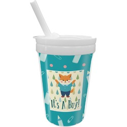 Baby Shower Sippy Cup with Straw (Personalized)