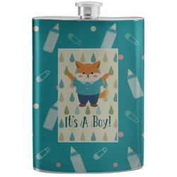 Baby Shower Stainless Steel Flask (Personalized)