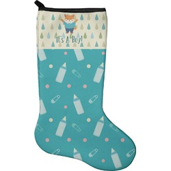 Baby Shower Christmas Stocking - Neoprene (Personalized)