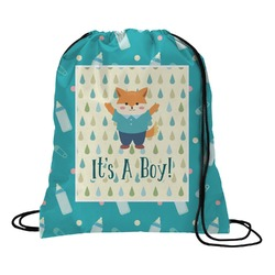 Baby Shower Drawstring Backpack (Personalized)