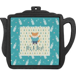 Baby Shower Teapot Trivet (Personalized)