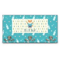 Baby Shower Wall Mounted Coat Rack (Personalized)