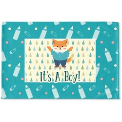 Baby Shower Woven Mat (Personalized)