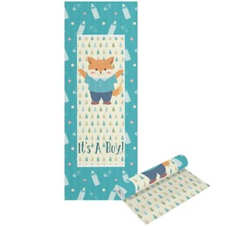 Baby Shower Yoga Mat - Printable Front and Back (Personalized)
