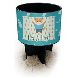 Baby Shower Black Beach Spiker Drink Holder (Personalized)