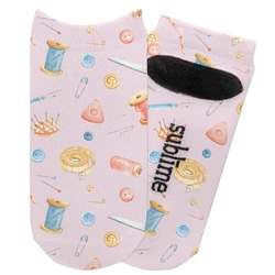 Sewing Time Adult Ankle Socks (Personalized)