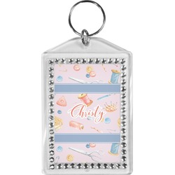 Sewing Time Bling Keychain (Personalized)