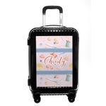 Sewing Time Carry On Hard Shell Suitcase (Personalized)