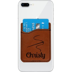 Sewing Time Leatherette Phone Wallet (Personalized)