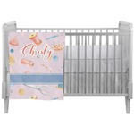Sewing Time Crib Comforter / Quilt (Personalized)
