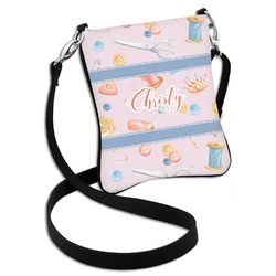 Sewing Time Cross Body Bag - 2 Sizes (Personalized)