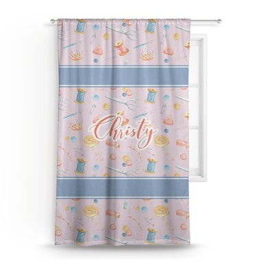 Sewing Time Curtain (Personalized)
