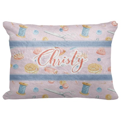 """Sewing Time Decorative Baby Pillowcase - 16""""x12"""" (Personalized)"""