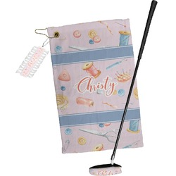 Sewing Time Golf Towel Gift Set (Personalized)