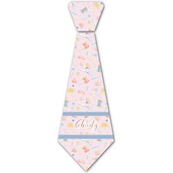 Sewing Time Iron On Tie (Personalized)