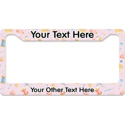 Sewing Time License Plate Frame (Personalized)