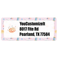 Sewing Time Return Address Labels (Personalized)