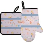 Sewing Time Oven Mitt & Pot Holder (Personalized)