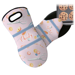 Sewing Time Neoprene Oven Mitt (Personalized)
