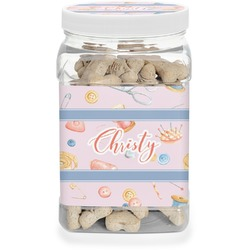 Sewing Time Pet Treat Jar (Personalized)