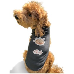 Sewing Time Black Pet Shirt - Multiple Sizes (Personalized)