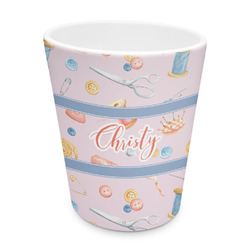 Sewing Time Plastic Tumbler 6oz (Personalized)