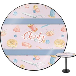 Sewing Time Round Table (Personalized)