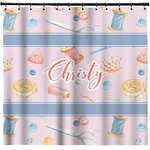 Sewing Time Shower Curtain (Personalized)