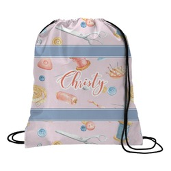 Sewing Time Drawstring Backpack (Personalized)