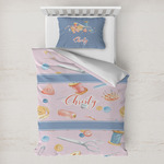 Sewing Time Toddler Bedding w/ Name or Text