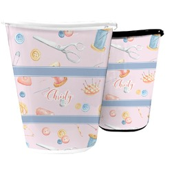 Sewing Time Waste Basket (Personalized)