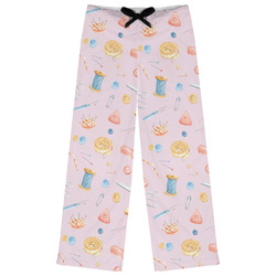 Sewing Time Womens Pajama Pants - XL (Personalized)