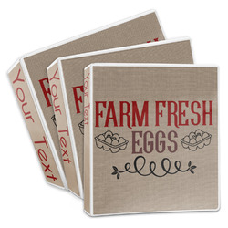 Farm Quotes 3-Ring Binder (Personalized)