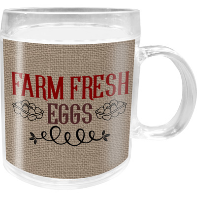 Farm Quotes Acrylic Kids Mug (Personalized)