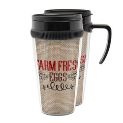 Farm Quotes Acrylic Travel Mugs (Personalized)