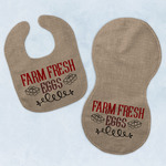 Farm Quotes Baby Bib & Burp Set