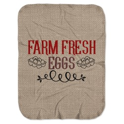 Farm Quotes Baby Swaddling Blanket (Personalized)
