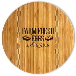 Farm Quotes Bamboo Cutting Board