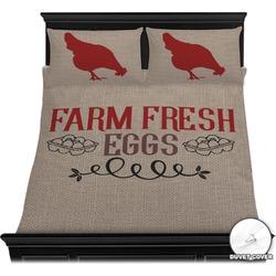 Farm Quotes Duvet Cover Set (Personalized)