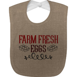 Farm Quotes Baby Bib (Personalized)