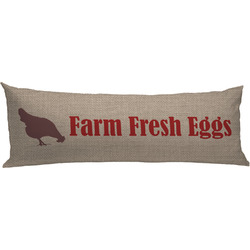Farm Quotes Body Pillow Case (Personalized)