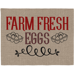 Farm Quotes Woven Fabric Placemat - Twill