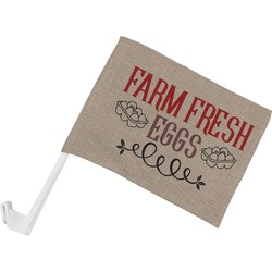 Farm Quotes Car Flag (Personalized)