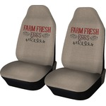 Farm Quotes Car Seat Covers (Set of Two) (Personalized)