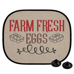 Farm Quotes Car Side Window Sun Shade (Personalized)