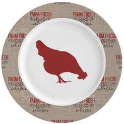 Farm Quotes Ceramic Dinner Plates (Set of 4) (Personalized)