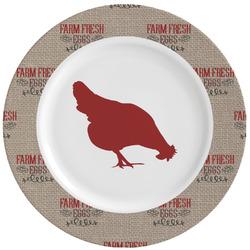 Farm Quotes Ceramic Dinner Plates (Set of 4) (Personalized)