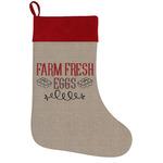 Farm Quotes Holiday Stocking
